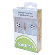 Digital Stereo Earphones Football Design