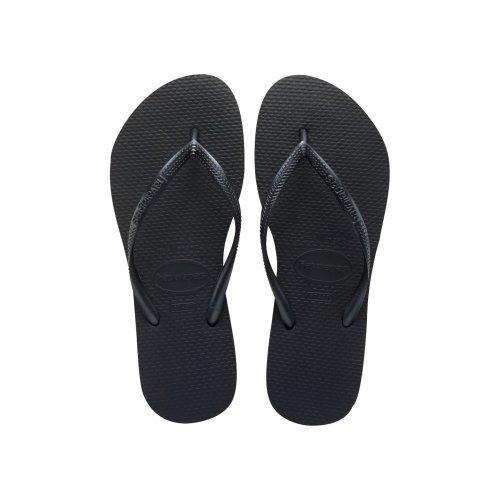 Havaianas Slim Black Flip Flops