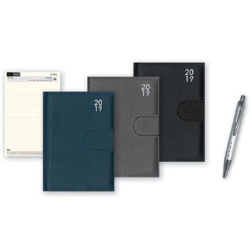 2019 Pocket Week Day To View Premium Diary & Pen Christmas Home Office WDTV WD2V