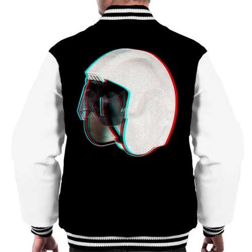 Original Stormtrooper Rebel Pilot Stunt Helmet 3D Effect Men's Varsity Jacket
