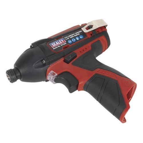 "Sealey CP1203 Impact Driver 12V 1/4""Hex Drive 80Nm - Body Only"