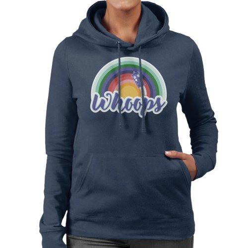 Doctor Who Whoops Women's Hooded Sweatshirt
