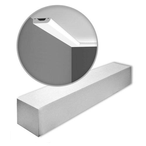 Orac Decor SX182-box AXXENT CASCADE Skirtings 1 Box 21 pieces | 42 m