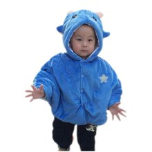Baby Cloak Shawl Baby Blankets Twelve Constellations Baby Cloak BLUE Capricorn