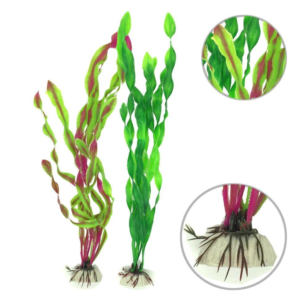 Pet Supplies Large Aquarium Plants Plastic Fish Tank Decorations Artificial Aquatic Plants