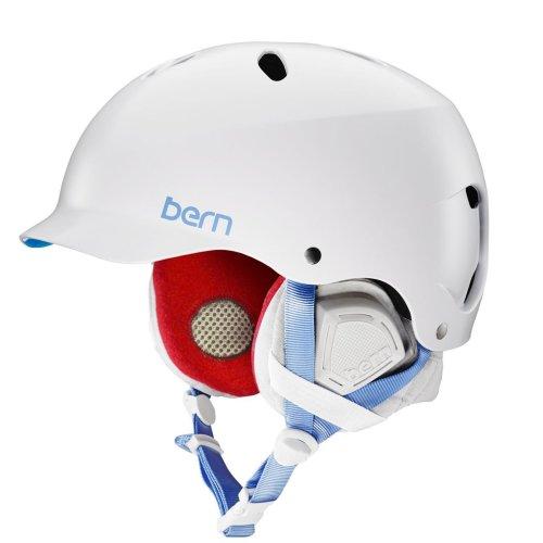 Bern Lenox EPS Helmet w/ Grey Liner - Satin White  Medium
