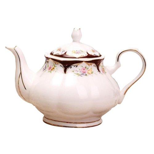 European Royal England Style Ceramic Teapot Coffee Pot