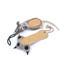 Pennplax Claw and Mouse Scratch Cat Toy
