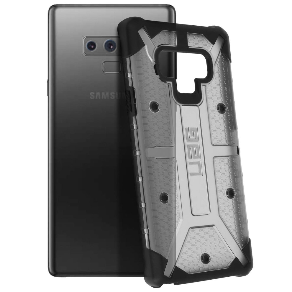 finest selection f46d3 93347 UAG Plasma Series scratch resistant case armor shell for Galaxy Note 9 - Ash
