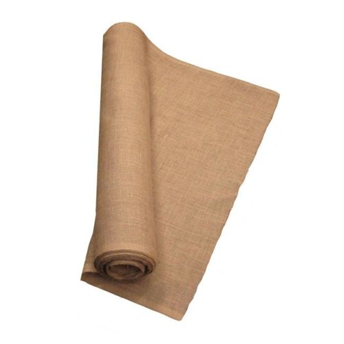 LA Linen 60IN-Burlap-60YardRoll 60 Yards Burlap Fabric, Natural - 60 in.