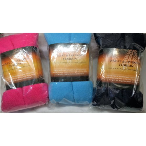 Heat Cushion Bag Fleece Wheat Lavender Microwave