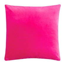 """17.7""""x17.7"""" Premium Solid Color Throw Pillow Soft Pillow Cushion, Rose Red"""