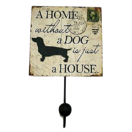 Dog Single Coat Hook Robe Hat A Home Without A Dog Is Just A House