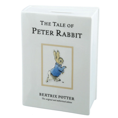 Beatrix Potter The Tale of Peter Rabbit Money Bank Box Gift