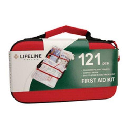 Life Line 4406 Lifeline 121 Piece EVA First Aid Kit  -Pack of 4