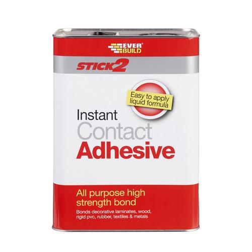 Everbuild Stick2 All Purpose Premium Grade Contact Adhesive 5 Litre
