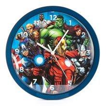 Marvel Avengers 10 Inch Analogue Wall Clock, Mar18 - Clock 10 New Official Iron -  wall marvel clock avengers 10inch new official iron man hulk