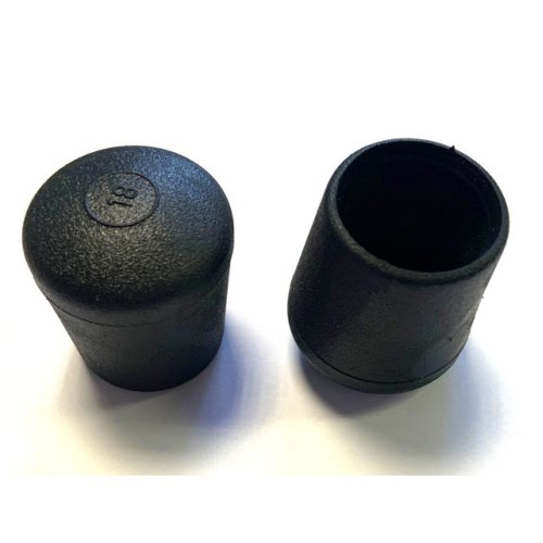 Plastic External Tapered End Cap for 10NB (17.2mm OD) Pipe