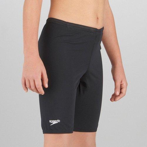 """28"""" Boys Black Speedo Jammer Swim Shorts"""