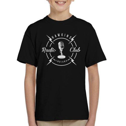 Hawkins Radio Club Indiana Stranger Things Kid's T-Shirt