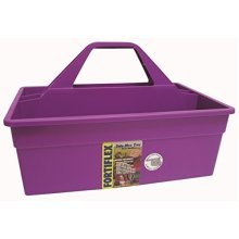 FORTEX INDUSTRIES 380613 Tote Max Purple, 17X11X11