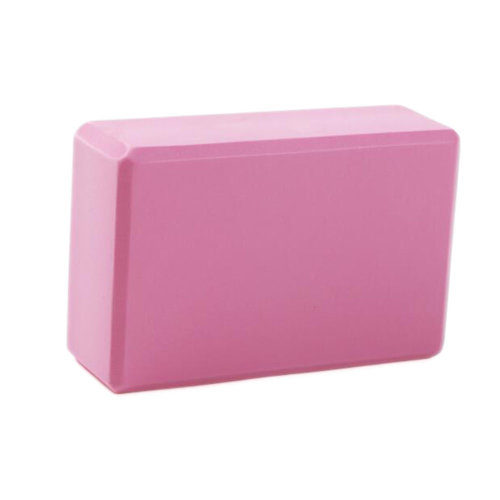 Yoga Brick High-densit Environmental Yoga Blocks Yoga Starter Auxiliary Tool Foam Fitness-Pink