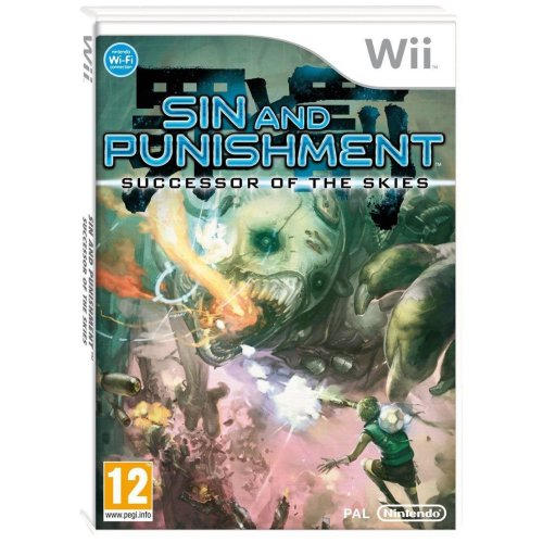 Sin and Punishment  Successor of the Skies Nintendo Wii Game