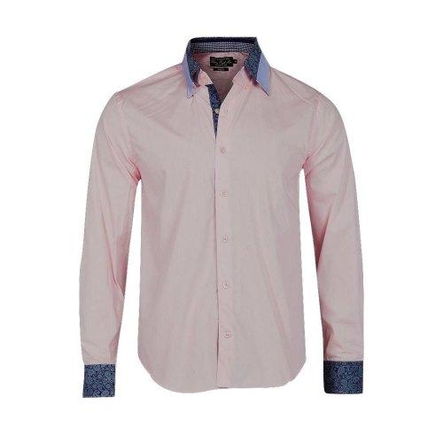 Victory Eagle Men's VT552 Long Sleeved Shirt Pink