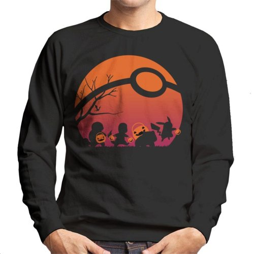 Trick Or Treat Pokemon Men's Sweatshirt