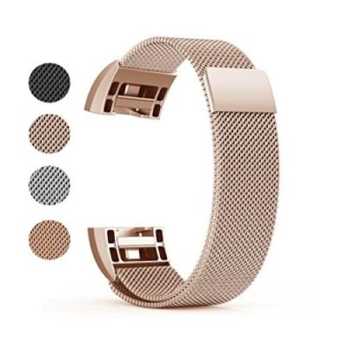 Fitbit Charge 2 Milanese Loop Band Stainless Steel