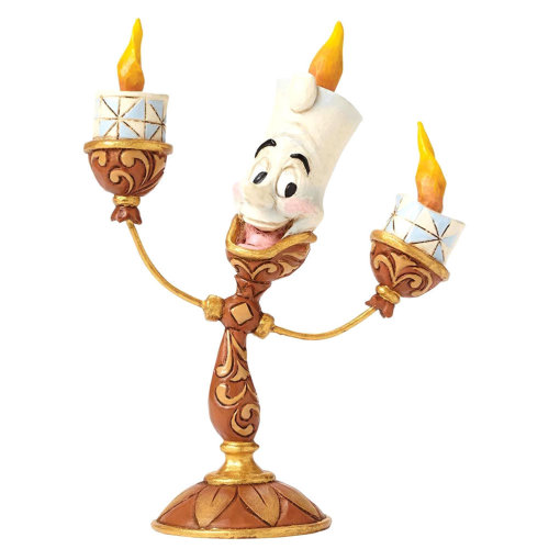 Official Disney Beauty and The Beast Lumiere Ooh La La Figurine