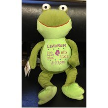 Green Frog - Personalised With Name, Message or Birth Date
