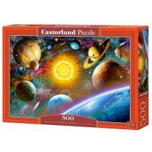 Csb52158 - Castorland Jigsaw 500 Pc - Outer Space