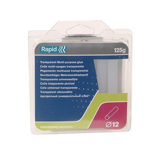 Rapid 40107355 White Glue Sticks Pack of 13 12mm Diameter x 94mm