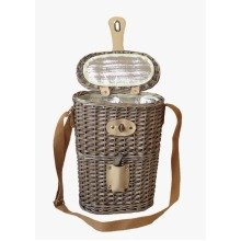 2 Bottle Willow Insulated Bottle Carrier