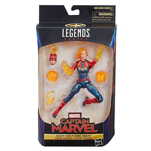 Marvel Legends Captain Marvel Binary Form 6 Inch Action Figure Hasbro