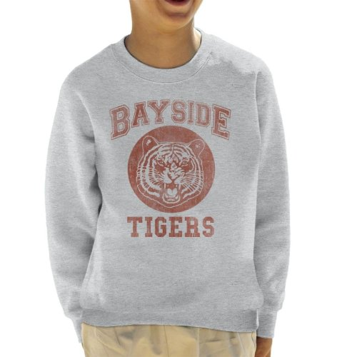 Saved By The Bell Inspired Bayside Tigers Kid's Sweatshirt