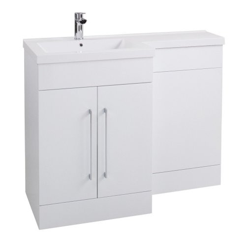 Bathroom Suite and Furniture Pack Vanity Unit Toilet