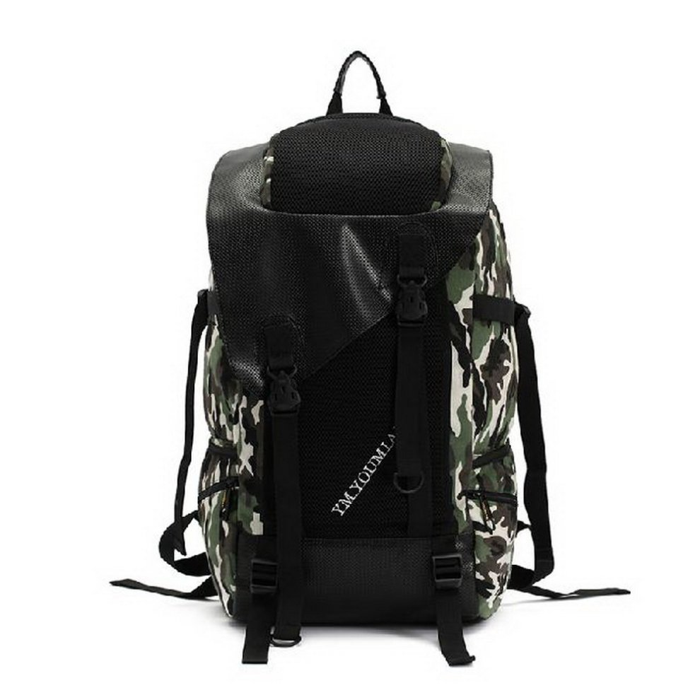 Army Backpack Camouflage Sport Backpack for Camping, Hiking, Climbing Canvas
