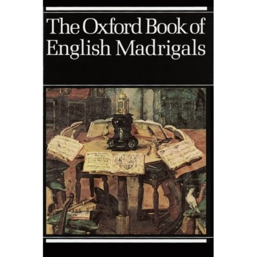 The Oxford Book of English Madrigals: Vocal score (Paperback)