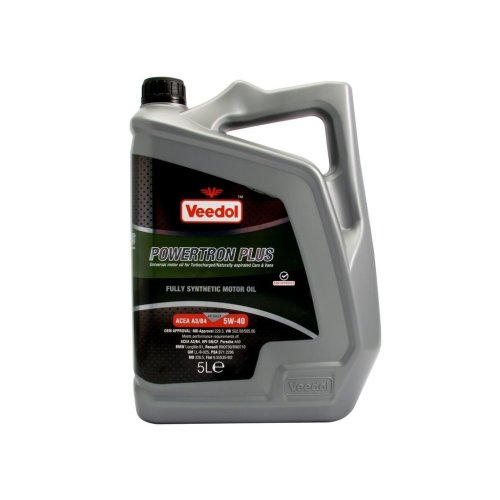 Powertron Plus 5W-40 - Fully Synthetic - 5 Litre