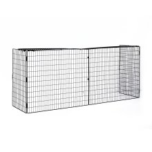 Homcom Extendable Fireguard Screen Folding Fireplace Wire Mesh Cover