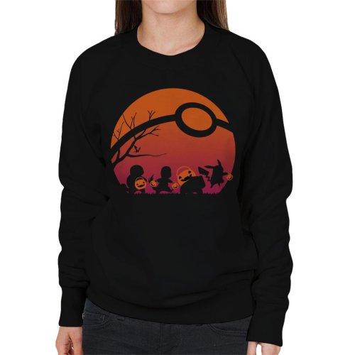 Trick Or Treat Pokemon Women's Sweatshirt