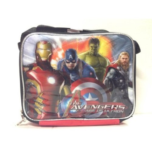 Lunch Bag - Marvel - The Avengers Age of Ultron Boys Case New 055256