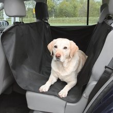 Car Seat Pet Cover Water Resistant Headrest Mounted Rear Seat Fabric Protector