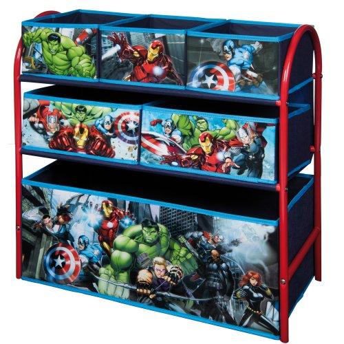 (Avengers) Disney & Marvel Metal Rack Organiser With 6 Drawers