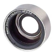 Hama HR Wide-Angle Lens for Camcorders, HTMC, 0.5x