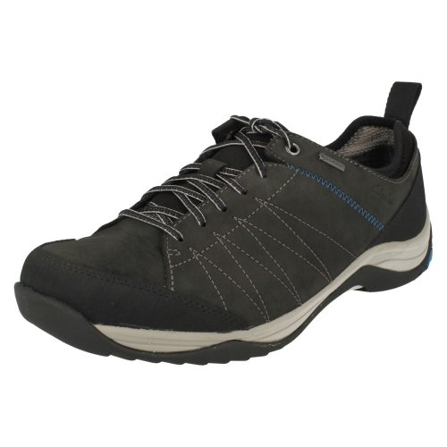 Mens Clarks Casual Lace Up Shoes Baystonelo GTX - G Fit