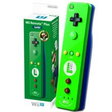 Nintendo Wii Remote Plus Green - Luigi Wii + Wii U
