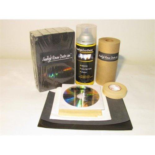 Headlight Renew Doctor HRD1001 Single Application Kit